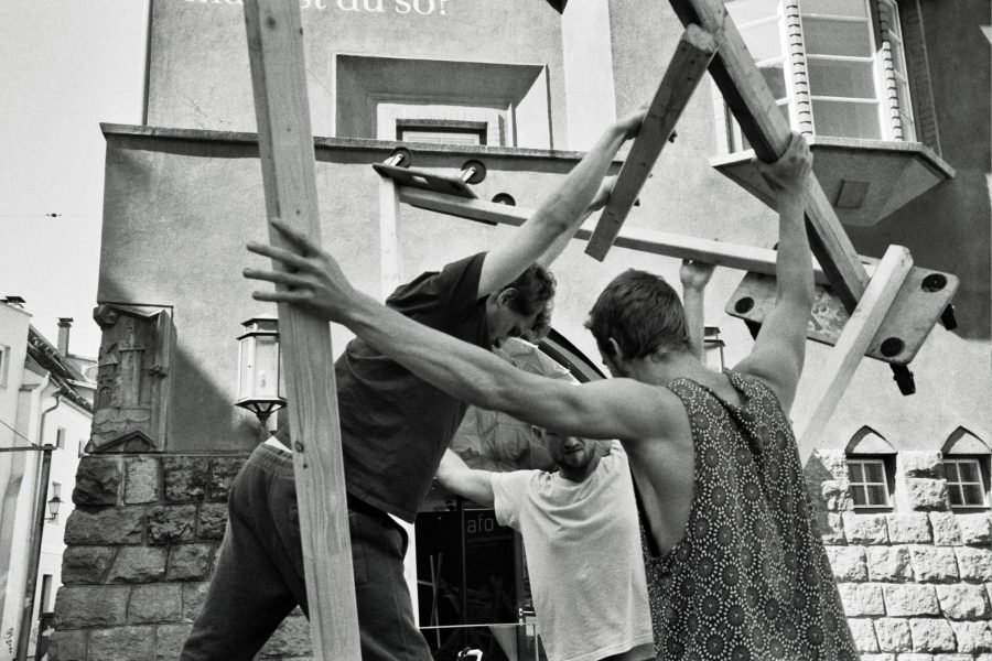 Architektur+Tanz / fot. Mariya Zharyi